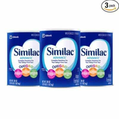 Amazon Coupon Deal: Save an Extra 35% off Similac {36 oz 3-Pack only $59.82}, Free Shipping Eligible!