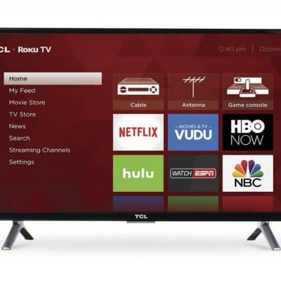 TCL Roku Smart LED TV as low as $119.99, Free Shipping Eligible!