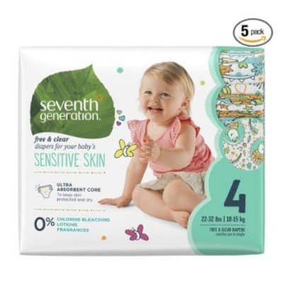 Amazon Coupon Deal: Save and Extra 40% on select Seventh Generation Diapers and Wipes, Free Shipping Eligible!
