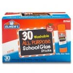 Elmer's All Purpose School Glue Sticks, Washable, 30 Pack only $7.88, Free Shipping Eligible!