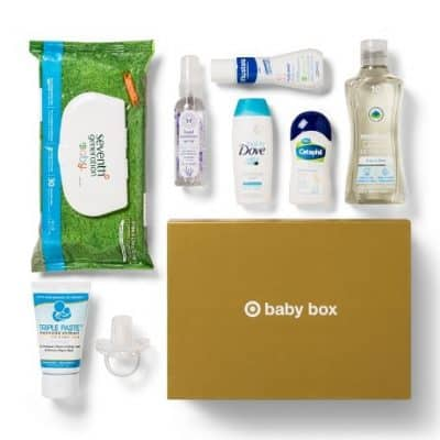 July Target Baby Box only $7 ($24 Value), Free Shipping Eligible!