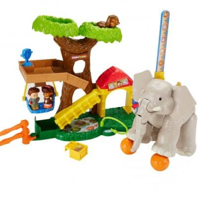 Save Over 60% on the Fisher-Price Little People Big Animal Zoo, Free Shipping Eligible!