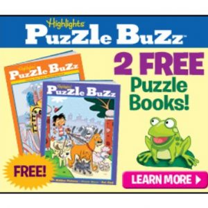 2 Free Highlights Puzzle Buzz Books! {Perfect to Take on Spring Break Trip!}