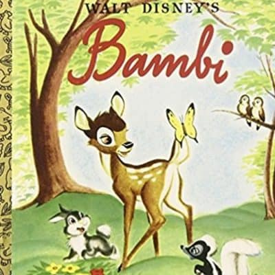 Save 62% on Select Little Golden Books Including Bambi (only $1.88!), Free Shipping Eligible!