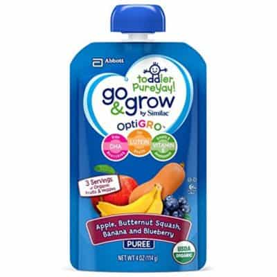12-pk of 4-oz Go & Grow Organic Fruit & Veggie Pouches only $9.96, Free Shipping Eligible!