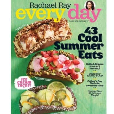 Amazon Magazine Deal: Rachael Ray Every Day only $5!