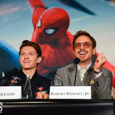 Spider-Man Homecoming Press Junket