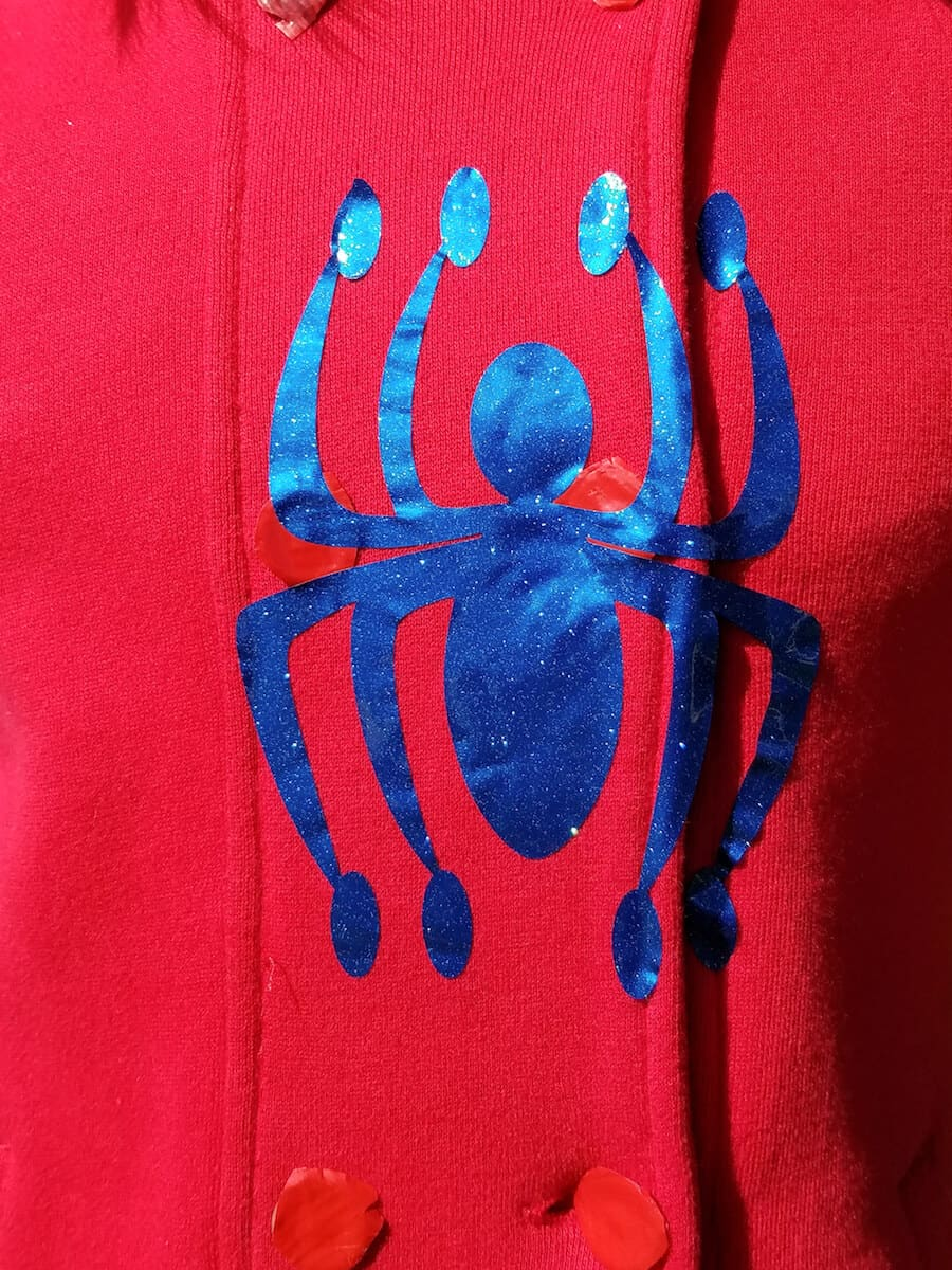 diy spider-man costume for girl with spider-man homecoming icon