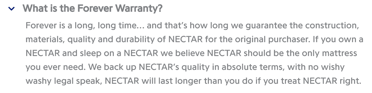 nectar mattress review complaints