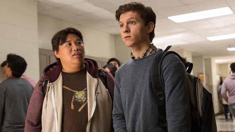 spider-man homecoming tom holland jacob batalon interview