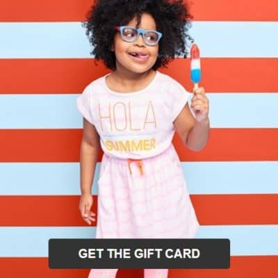 Target Online Deal: Free Gift Card with Kids Clothing Purchase + Buy One Get One 50% off Kids Shoes!