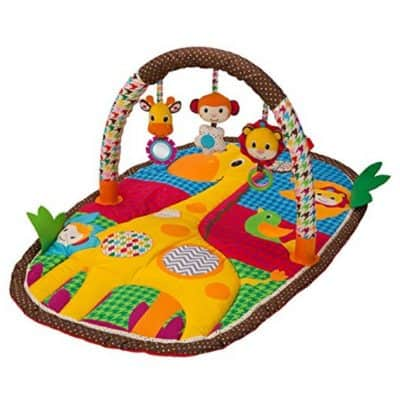 Save Extra 25% on the Infantino Take & Play Safari Activity Gym and Play Mat {Only $16.87}, Free Shipping Eligible!