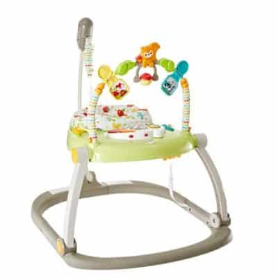 Save 55% on the Fisher-Price Woodland Friends SpaceSaver Jumperoo, Free Shipping Eligible!