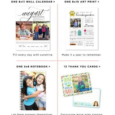 Shutterfly Choose Up To Two for Free: Wall Calendar, Notebook, Art Print or Cards!
