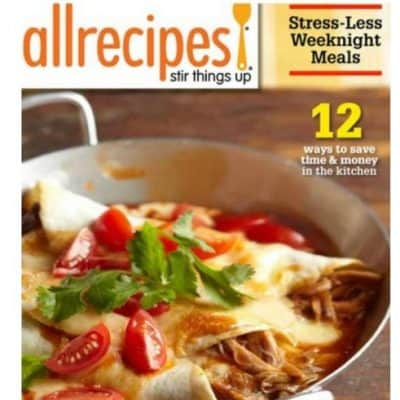 AllRecipes Magazine Subscription just $4.50/Year!