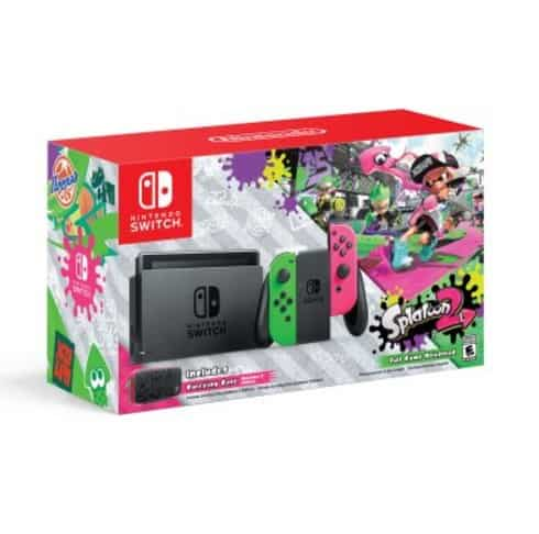 Nintendo Switch Console with Splatoon 2 Neon Green Neon #1: ScreenHunter 2441 Aug 18 07 41