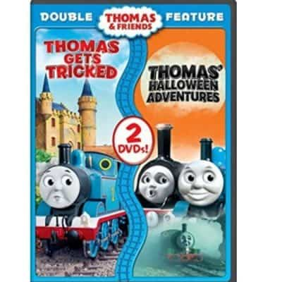 Thomas & Friends: Thomas Gets Tricked / Thomas' Halloween Adventures Double Feature DVD just $5.88, Free Shipping Eligible!
