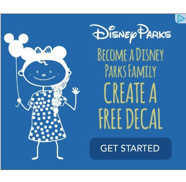 Free Disney Stick Figure Decal!