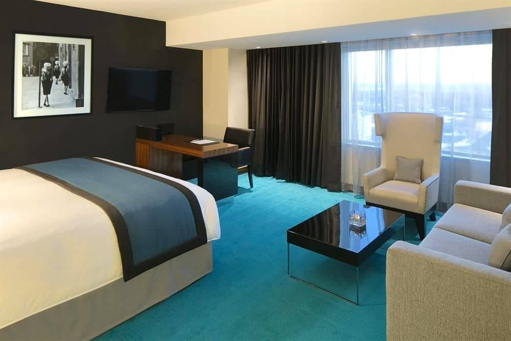 radisson blu mall of america junior suite