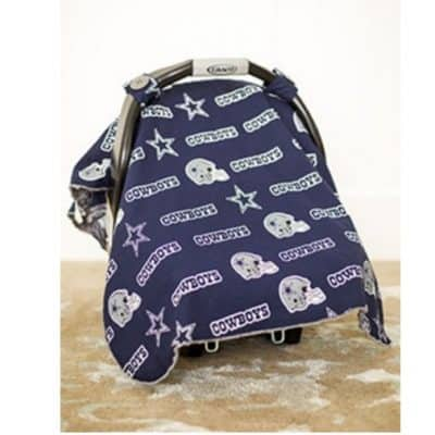 FREE Carseat Cover ($50 Value)! Just pay shipping! Fun NFL Patterns Available!