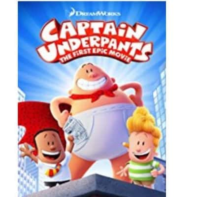 Own Captain Underpants: The First Epic Movie Today {Before Available on DVD or Blu-ray} with Amazon Instant Video!