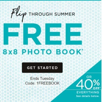 Shutterfly Promo Code: FREE Photo Book!