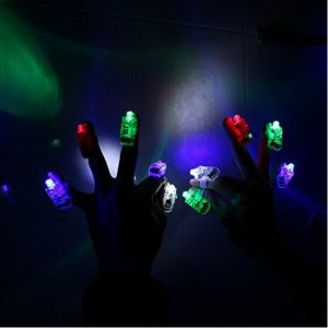 100 LED Finger Lights only $14.44 (Non-Candy Halloween Idea!)