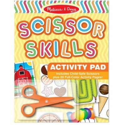 Save 74% on the Melissa & Doug Scissor Skills Activity Book With Pair of Child-Safe Scissors, Free Shipping Eligible!