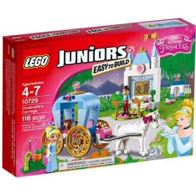 Save 28% on the LEGO Juniors Cinderella's Carriage, Free Shipping Eligible!