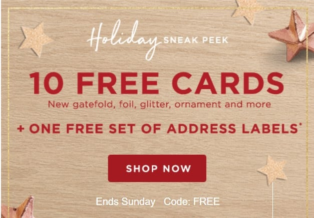 Shutterfly card coupons