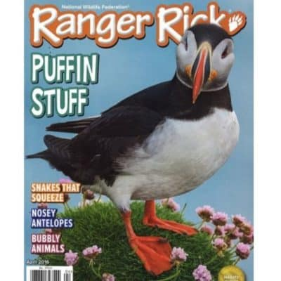 Ranger Rick Magazine Subscription $11.99 (Today Only!) Great Gift Idea!