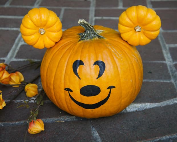 Disney Painted Pumpkins Over 45 No Carve Disney Pumpkin