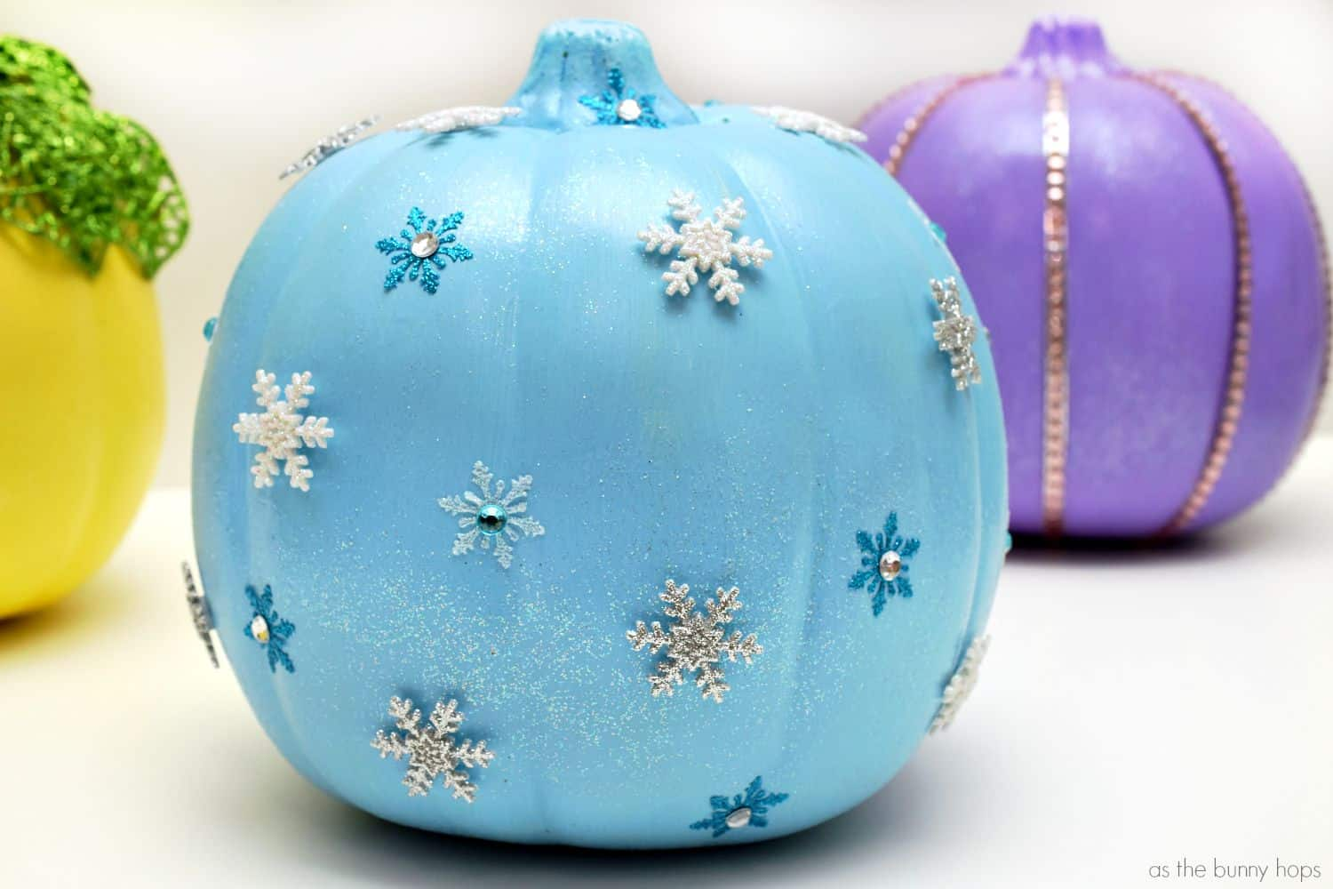Disney painted pumpkin elsa
