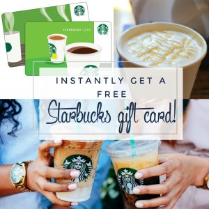 Instant Free $5 Starbucks Card With Drop App Invite Code