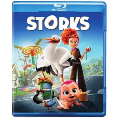 Save 55% on Storks on Blu-ray {Only $9!}, Free Shipping Eligible!