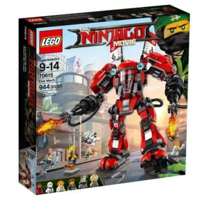 Save 20% on the LEGO Ninjago Movie Fire Mech, Free Shipping Eligible!