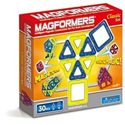 Save 42% on Magformers Classic 30 Piece Set {Plus Other Sets on Sale}, Free Shipping Eligible!