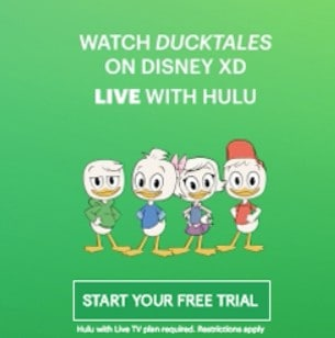 Sign up for Hulu Free Trial and Watch Ducktales for Free!