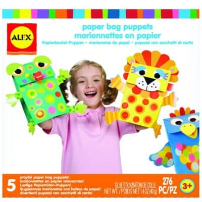 Save 58% on the ALEX Toys Little Hands Paper Bag Puppets, Free Shipping Eligible!