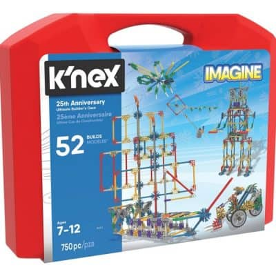 Save 53% on the K'NEX – Imagine 25th Anniversary Ultimate Builder's Case Building Kit, Free Shipping Eligible!