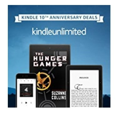 Save Up to 40% off Kindle Unlimited, Free Shipping Eligible!