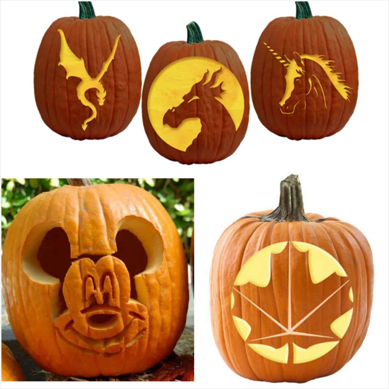 700 Free Pumpkin Carving Patterns And Printable Pumpkin Templates