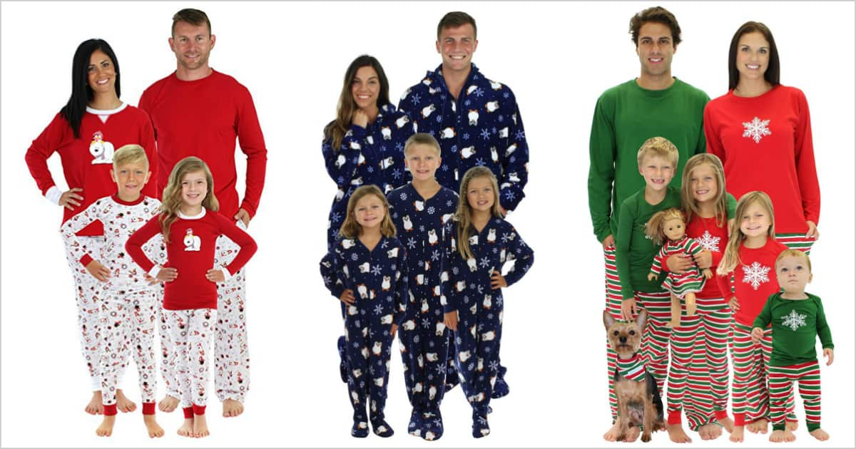 Family xmas pajamas
