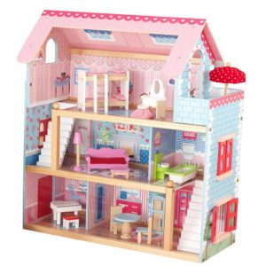 Save 58% on the KidKraft Chelsea Doll Cottage with Furniture {And More KidKraft Items on Sale!}, Free Shipping Eligible!