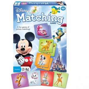Save 53% on the Disney Classic Characters Matching Game, Free Shipping Eligible!