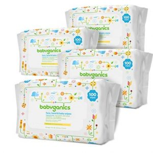 Amazon Coupon Deal: Save Extra 45% on Babyganics Hand & Face Wipes (400 count only $6.64), Free Shipping Eligible!