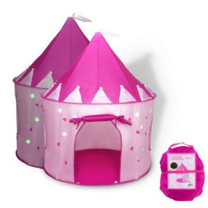 Save 53% on the Princess Castle Play Tent with Glow in the Dark Stars, Free Shipping Eligible!