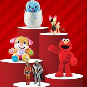 Target Online Deal: Save Extra 25% on Toys Today Only, Free Shipping Eligible!