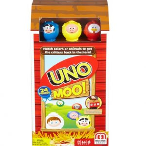 Uno Moo Card Game only $5.68 (reg $16.99), Free Shipping Eligible!