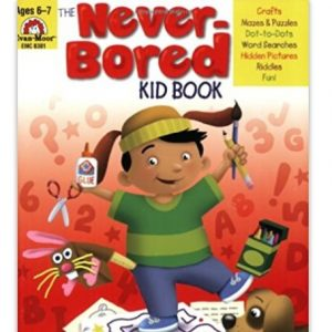 Save 50% on The Never-Bored Kid Books, Free Shipping Eligible!